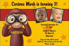 curious george birthday party ideas - Google Search