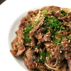 Recipe for Bulgogi, Korea's most popular beef dish.  Perfect with kimchee and a bowl of rice.