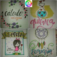 Cuadernos marcados