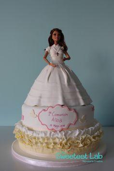 tarta primera comunión