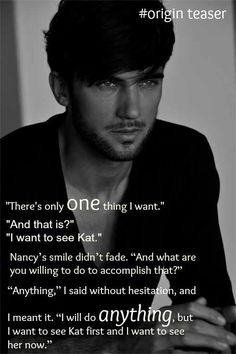 Origin (Lux teaser Jennifer Arementrout Daemon Black I kinda want to read this series now! Lux Series, Book Series, New Quotes, Book Quotes, Funny Quotes, Pepe Toth, Saga Lux, Daemon Black, Old English Words
