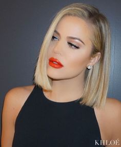 Hair blonde khloe kardashian beauty 27 Ideas for 2019 Khloe Kardashian Hair Short, Kardashian Beauty, Kardashian Hairstyles, Trendy Hairstyles, Bob Hairstyles, Vintage Hairstyles, Straight Hairstyles, Pelo Guay, Medium Hair Cuts