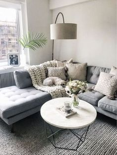Cool 90 Fabulous Modern Minimalist Living Room Layout Ideas The post 90 Fabulous… – Living Room Inspiration – Living Room Ideas Lounges, Cozy Living Rooms, Home Living Room, Apartment Living Rooms, Living Room Decor Grey Couch, Living Area, Bedroom Decor, Bedroom Ideas, Living Room Lamps