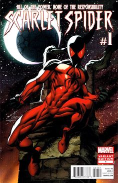 Scarlet Spider #1 variant cover by Mark Bagley