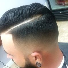 I LOVE LOVE LOVE this style of a mens haircut...so attractive!! Extremely clean fade