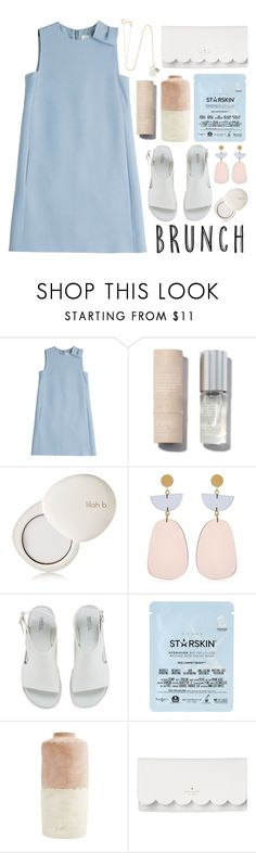 """""""Corinne"""" by hanraven ❤ liked on Polyvore featuring Valentino, By Rosie Jane, lilah b., Isabel Marant, Melissa, Starskin, Kate Spade and Melissa Joy Manning"""