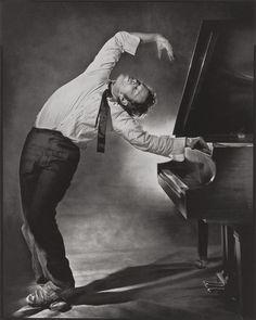 Tom Waits at the Piano.