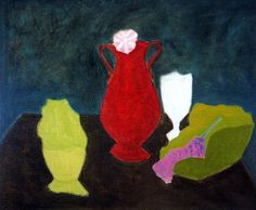 Dark Still Life, Milton Avery