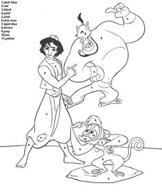 color by number coloring pages for adults   Coloring Picture HD