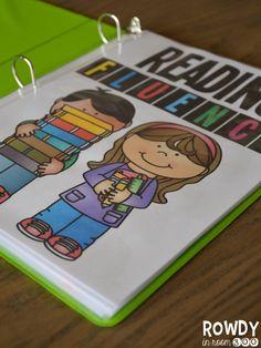 "Guided Reading binder FREEBIE! ....Follow for ""too-neat-not-to-keep"" fun & free teaching stuff :)"