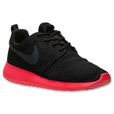 Men\u0026#39;s Nike Roshe Run Casual Shoes | FinishLine.com | Black/Anthracite/Siren