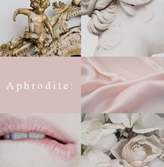 Aphrodite 1/2: The Greek Goddess of love, beauty, pleasure and procreation. Apart from her natural beauty, she also had a magical girdle that compelled everyone to desire her.