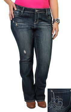 Cute Plus Size jeans