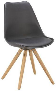 Dieser moderne Stuhl ergänzt perfekt Ihr trendig eingerichtetes Zuhause. Der ca…