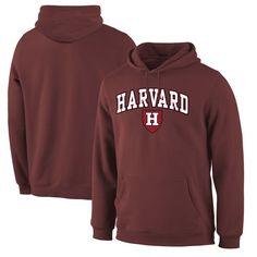 Fanatics Branded Harvard Crimson Campus Pullover Hoodie - Crimson