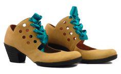 créations Art-H-Pied et GinoGinette chaussures pour hommes, souliers et bottes sur mesures pour femmes Version 01jaunerubturquoise du Modèle...