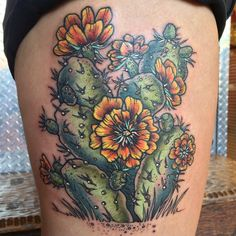 1337tattoos — chicagotattoocandy:   Cactus for heather by speck!...