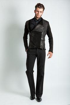 Florin Dobre - Jacket- Bold leather Jacket - Idelier