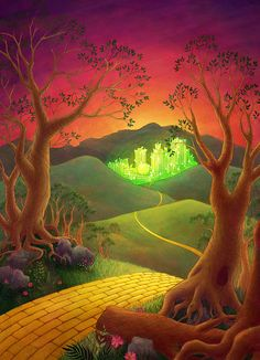 The Yellow Brick Road. I loved this movie when I was little
