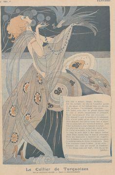 lesanneeselegantes:  Brunelleschi for Fantasio - 1917