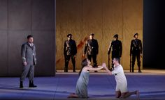 THEODORA - Kresimir Spicer (Septime) | Katherine Watson (Theodora) | Philippe Jaroussky (Dydime) © Vincent PONTET