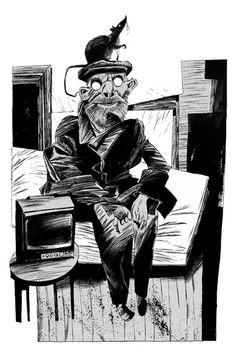 Coraline, Dave McKean, illustrator.