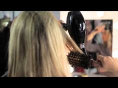 2d1d18b2f01f Hair how to  Ruth Crilly show us the undone blow-dry - YouTube Simple