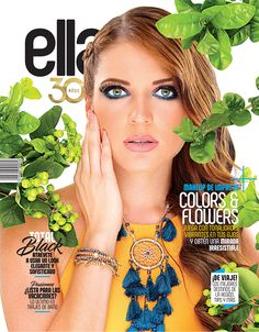 Revista Ella agosto 2017. Magazine Covers, Fashion, Swimsuits, Moda, Fashion Styles, Fashion Illustrations