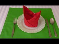 Bishop's Hat Napkin Folding