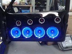 All blue LED