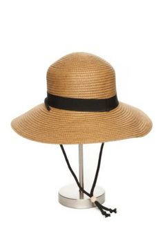 e3720373f0f San Diego Hat Company Women s Paper Brim Sun Hat - Black - One Size