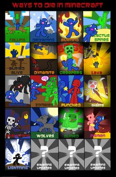 Cool Minecraft comics | http://aidansfrogs.wikispaces.com/more+minecraft+comics