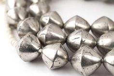 Your place to buy and sell all things handmade Old Silver Coins, Silver Beads, New Opportunities, Jewelry Design, Unique Jewelry, Beading Supplies, West Africa, Metal Beads, Jewelry Trends