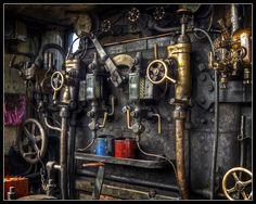 Steam Engine Controls | Flickr - Photo Sharing!