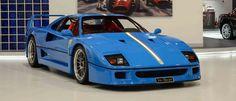 Is This Blue 1992 Ferrari F40 Beautiful or Sacrilegious?