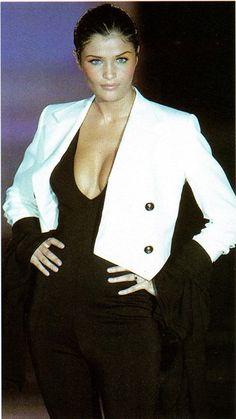 Helena Christensen - Gianni Versace. 1993