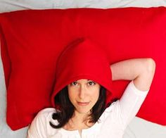 Hoodie Pillowcase - as weird as this is, I have a college student that might actually use it- even has drawstrings and a roomy pocket on the side for a remote, chapstick, wallet, etc