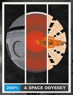 A space Odyssey by Stanley Kubrick. My favourite. Films Cinema, Cinema Posters, Cinema Cinema, Tv Movie, Sci Fi Movies, Stanley Kubrick, 2001 A Space Odyssey, 70s Sci Fi Art, Minimal Movie Posters