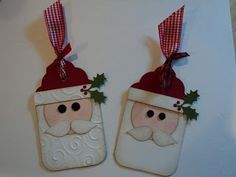 Adorable Santa Tags #SU