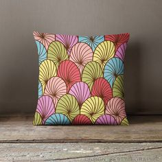 Decorative throw pillows, Abstract cushion covers via ReStyleGraphic. Click on the image to see more!