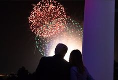 President Trump and beaming Melania share sweet Independence Day photos from White House celebration Conservative News Today