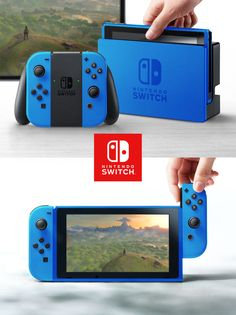 How many colors will the Switch be available in?