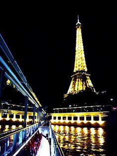 Dinner cruise on the Seine =pure magic!