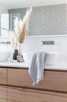 Staples Tasmanian Oak Vanity. 2inTwelve Collaboration. Shop Loughlin Furniture. #bathroomideasurban
