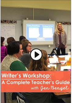 If you teach writing in grades 2-6 and you've struggled with planning, teaching, getting all students writing, keeping them focused, and grading their work, then this course is for you!  Not only is there over 5 hours of professional development in teaching writing that includes EVERYTHING you need to get all students writing, there are also $48 in writing resources built into the course!  Learn all about the course by clicking the image above.