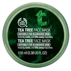 Tea Tree Face Mask | The Body Shop ® great for blemished skin very cooling