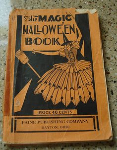 vintage halloween book the magic halloween book by paine publishing co - Vintage Halloween Decorations For Sale