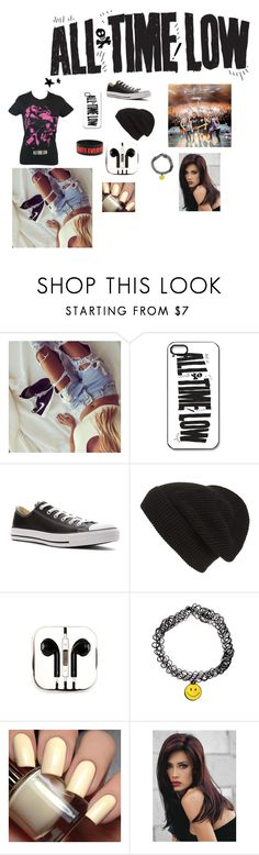 """""""All time low"""" by babycakes-style ❤ liked on Polyvore featuring Converse, Phase 3, PhunkeeTree and Revlon"""