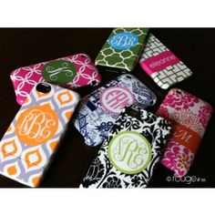 CUSTOM Phone Cases - Many Patterns! - *For Greek Circle font, you can only use it with a circle. In the personalization field, enter names like Alpha, Gamma, etc and we'll use the Greek Letter for that name.