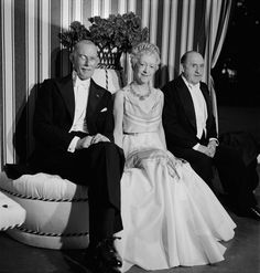Sir George Clerk, Elsie de Wolfe, Sir Charles Mendl, 1938 - The Cut